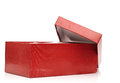 Open the red box Royalty Free Stock Photo