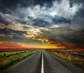 Open Road Royalty Free Stock Photos