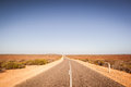 Open Road In Australian Outback Royalty Free Stock Photo