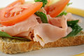 Open Sandwich 3 Royalty Free Stock Images
