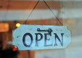 Open sign Royalty Free Stock Photo