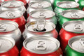 Open soft drink can Royalty Free Stock Images