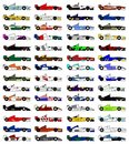 Open-wheel sport Stock Images
