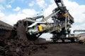 Opencast mining Royalty Free Stock Photo