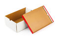 Opened box Royalty Free Stock Photo