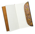 Opened note book Royalty Free Stock Photography