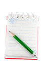 Opened notebook Royalty Free Stock Images