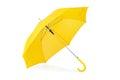 Opened umbrella isolated on white background Royalty Free Stock Photo