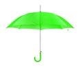 Opened umbrella isolated on white background Royalty Free Stock Photography