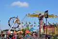 Opening Day at the Orange County Fair Royalty Free Stock Photo