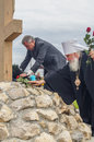 The opening events in honor of the th anniversary of the liberation of russia from mongol tatar yoke in the kaluga region Stock Photography