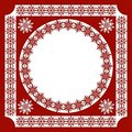An openwork pattern of ethnic style_frame_1 Stock Image
