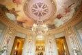 Opera Garnier interior in Paris, France Royalty Free Stock Photo