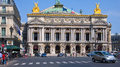 Opera garnier paris france july house placed in place de l designed by charles in neo baroque style Stock Image