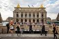 Opera Garnier Paris Royalty Free Stock Photo