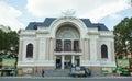 Opera House in Ho Chi Minh City Royalty Free Stock Photo