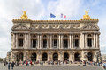 Opera house in paris,france Royalty Free Stock Photo