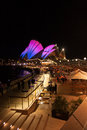 Opera house in vivid sydney australia may shown during festival Stock Photo