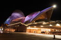 Opera house in vivid sydney australia may shown during festival Stock Image