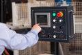 Operator of CNC machine