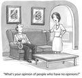 Opinionated Woman