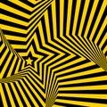 Opt art illustration optical illusion Stock Photo