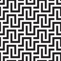 SQUARE LABYRINTH TEXTURE. MODERN STRIPED SEAMLESS VECTOR PATTERN.