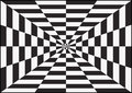 Optical art op also known as is a style of visual that makes use of illusions Stock Photos
