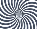 Optical Art Spiral Curves Triangle 05 Royalty Free Stock Photos