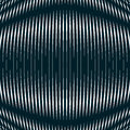 Optical background with monochrome geometric lines. Moire