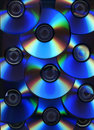 Optical disc background Royalty Free Stock Photography
