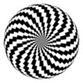 Optical illusion Royalty Free Stock Photo