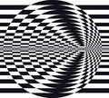 Optical illusion Stock Photo