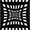 Optical illusion for hypnotherapy or psychic Royalty Free Stock Photos