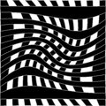 Optical illusion for hypnotherapy or psychic Royalty Free Stock Images