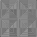 Optical illusion for hypnotherapy or psychic Stock Photography
