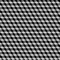 Optical illusion illustration of seamless background with colored Royalty Free Stock Photos