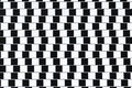 Optical Illusion Lines Royalty Free Stock Photo
