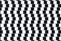 Optical Illusion Lines Royalty Free Stock Photo