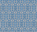 Optical illusion vector seamless pattern ovals rotates slowly can be used as background Stock Photo
