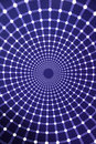 Optical illusions infinity light tunnel colored laser motion blur back ground texture patterns abstract patterns Royalty Free Stock Photo