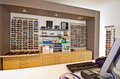 Optician shop interior Royalty Free Stock Photo