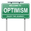 Optimistic concept. Royalty Free Stock Images