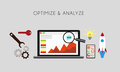 Optimize and analyze Royalty Free Stock Photo