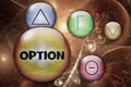 Options with KPIs