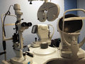 Optometry Vision Testing Equipment Royalty Free Stock Photo