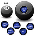 Oracle 8 Ball Stock Image