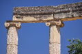 Oracle of delphi in greece Royalty Free Stock Photography