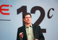 Oracle senior vice president andy mendelsohn makes speech at oracle openworld conference san francisco ca sept in moscone center Royalty Free Stock Photo