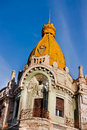 Oradea Palace Tower Royalty Free Stock Photos